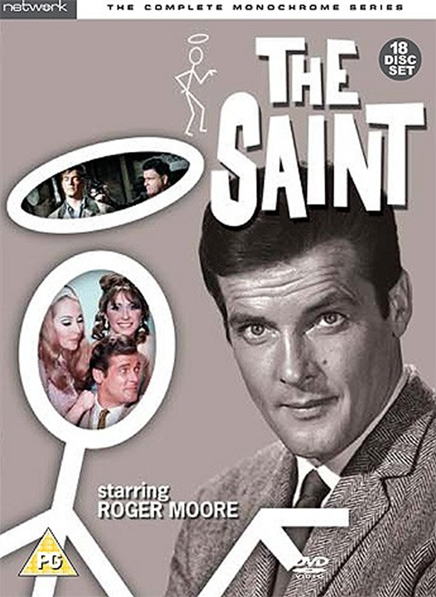 Saint (The): The Complete Monochrome Series
