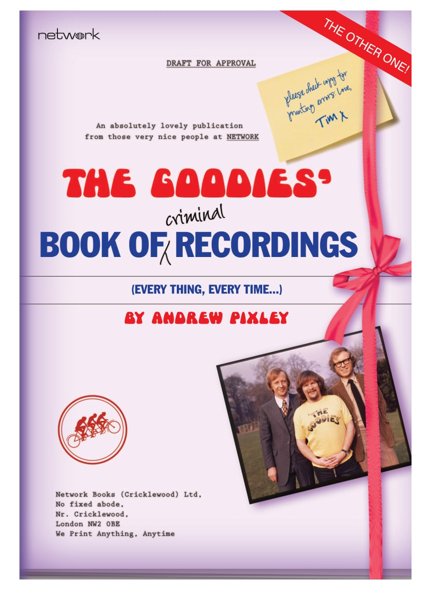 The Goodies Book of Criminal Recordings