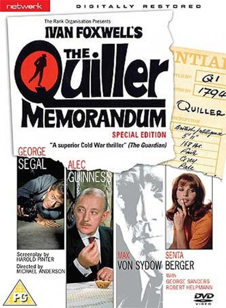 Quiller Memorandum (The): Special Edition