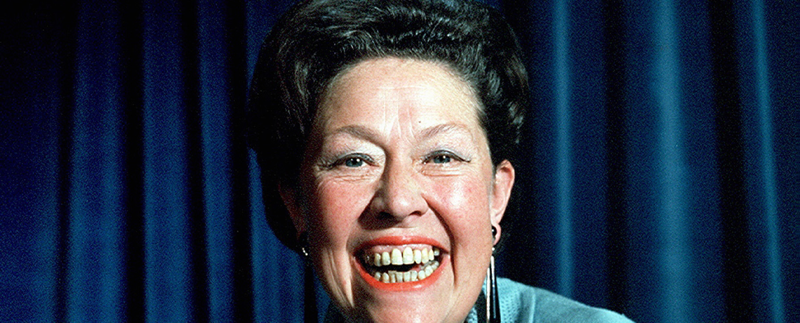 Women of Character – Peggy Mount